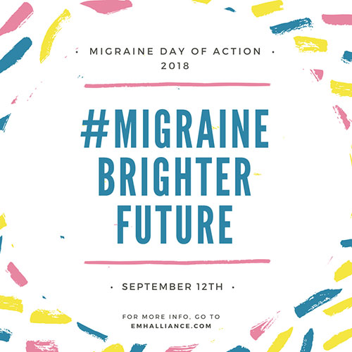 European Migraine Day Of Action 2018